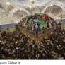 نمایی زیبا از ضریح حرم حضرت عباس(ع) در روز اربعین که توسط عکاس خبرگزاری رویترز گرفته شده است.