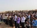 برگزاری نماز عید سعید فطر با حضور جمعی از مسئولین استان و شهرستان