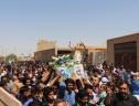 گزارش تصویری از استقبال پر شور مردم شهید پرور سیریز از شهید والا مقام مهدی عبدالله زاده