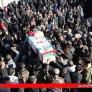 گزارش تصویری از تشییع پیکر پاک  جانباز پاسدار شهید حاج محمود حسن زاده