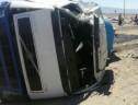 واژگونی کامیون در جاده زرند-بافق یک کشته برجای گذاشت