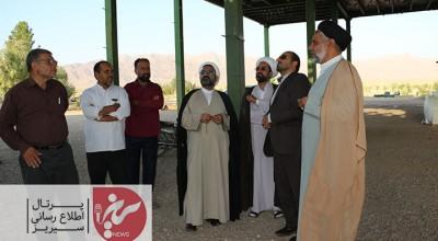 بازدید مدیرکل اداره اوقاف وامورخیریه استان کرمان از آستان مقدس امامزاده جعفر(ع)سیریز