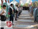 برگزاری رژه موتوری و غبار روبی و عطر افشانی قبورمطهر شهدا در سیریز