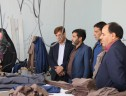 بازدید فرماندار زرند از مرکز دوخت سیریز جامه و واحد بوم گردی بحری سیریز