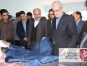 بازدید دکتر امیری نماینده محترم و فرماندار شهرستان زرند ار مرکز دوخت سیریز جامه