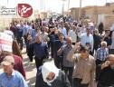 حضور مردم روزه دار سیریز در راهپیمایی روز قدس+تصاویر