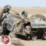 واژگونی خودروی پژو در محور سیریز بافق یک کشته برجای گذاشت