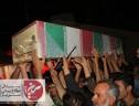 پیکر شهید گمنام دفاع مقدس در سیریز تشییع شد.