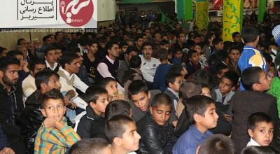جشن ميلاد پيامبر اكرم (ص) و حضرت امام جعفر صادق (ع) در سیریز برگزار شد