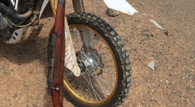 دستگیری شکارچی حرفه ای غیرمجاز توسط مامورین یگان حفاظت محیط زیست شهرستان زرند