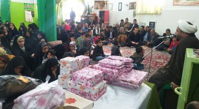 مراسم تکریم و تجلیل از مادران شهدا در سیریز برگزار شد