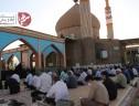 مراسم دعای عرفه با رعایت پروتکلهای بهداشتی در سیریز برگزار شد