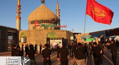 مراسم عزاداری شهادت امام رضا (ع) در سیریز برگزار شد+تصاویر