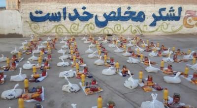 """ 💥مرحله سوم """"رزمایش کمک مومنانه"""" توسط حوزه مقاومت بسیج ثامن الائمه(ع) در سیریز برگزار شد."""